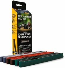 Work Sharp Knife & Tool Sharpener Belt Kit NEW