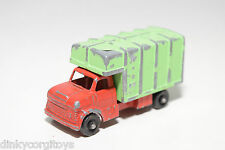 TUF-TOTS TUF TOTS LONE STAR BOX VAN TRUCK RED GREEN GOOD CONDITION