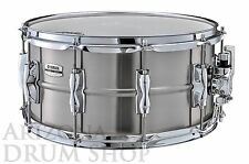 Yamaha RECORDING CUSTOM Stainless Steel 14 x 7 Snare Drum (RLS-1470) IN STOCK!