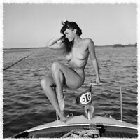 "17""x17"" Poster Bettie Page  The Notorious Bettie Page Vintage Photos"