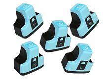HP02 Photosmart 5 PK Ink Cartridges LIGHT CYAN C8180 D7160 3110 8250 D7360