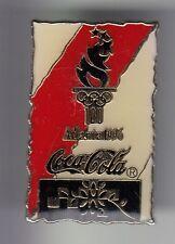 RARE PINS PIN'S .. COCA COLA COKE OLYMPIQUE OLYMPIC TORCHE ATLANTA 1996 USA ~17