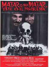 Theatre Of Blood Poster 03 Metal Sign A4 12x8 Aluminium