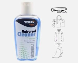 TRG UNIVERSAL LEATHER CLEANER SUEDE CLEANER  STAIN REMOVER 125m