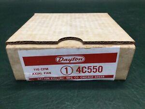 DAYTON Axial Fan 110 CFM Model 4C550 115V ~ NIB