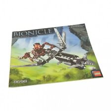 1 x Lego Bionicle Building Instruction Bionicle Warriors Vultraz 8698