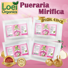 4 x PACK  PUERARIA MIRIFICA BUST FIRMING BREAST ENLARGEMENT PILL'S UK FAST POST
