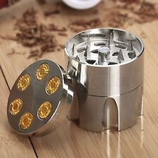 Metal Alloy Smoke Herbal Herb Crusher Cigar Tobacco Spice Grinder Hand Muller