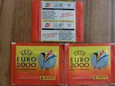 PANINI EURO 2000 EM 00  PROMO FINA*TOTAL * 3x TÜTE PACK BUSTINA POCHETTE sealed