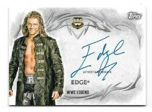Edge 2015 Topps WWE Undisputed AUTO