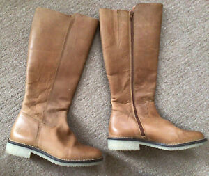 Seasalt Leather Boots Size 6