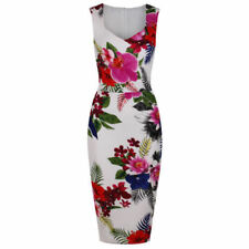 Robe droite en polyester pour femme