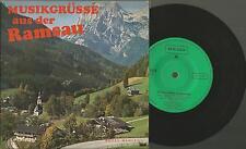 Vinyl Single 45, Grüsse aus Ramsau  Hotel Rehlegg / Die Rehlegger Musikanten