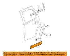 GM OEM REAR DOOR-Body Side Molding Right 15865854