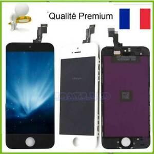 VITRE TACTILE+ECRAN LCD COMPLET TOUCH RETINA POUR IPHONE 5 5S 5C SE SUR CHASSIS