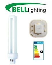 Energy Saving Lamp Light Bulb 4 Pin CFL Fluorescent Cool White 26W PL-C G24D-1
