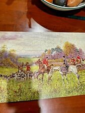 Vintage Wooden PASTIME Jigsaw PUZZLE Parker Brothers- IN FOR THE BRUSH