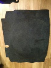 VW GOLF MK5 GTI REAR BOOT CARPET LINER MAT BLACK 1K0010344L