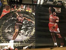 Michael Jordan 8th Wonder Of The World Poster&7338 sports illustrated Dunk !!!