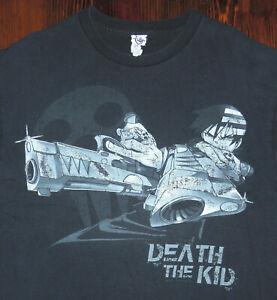 T Shirt Vintage Y2K Death The Kid Soul Eater Anime Japanese Manga Distress Large