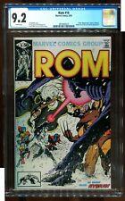 ROM 18 CGC 9.2 FRANK MILLER X-MEN COVER MARVEL