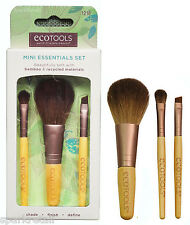 EcoTools Eco Tools MINI ESSENTIALS SET Bamboo Eye Liner/Shadow/Face BRUSH Trio