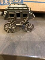 Vintage Die Cast Metal Wagon Carriage Pencil Sharpener