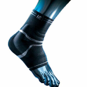LP 110XT Elastic SILICONE PADDED ANKLE SUPPORT Ankle Swelling Massage Warm Brace