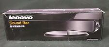 Case of 20 Brand New Lenovo LXV-J203LS 2 Channel Monitor Sound Bar w/ Mic Input