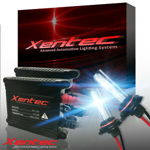 Xentec Xenon Light HID Kit H7 5000K Headlight Low Beam VS LED 30000 Lumens 35W