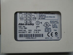 New old Stock 1734-OW4 /C  Allen Bradley Relay Output 1734-0W4  N311