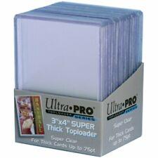 ULTRA PRO Top Loader 3 x 4 75pt Clear Regular
