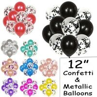 "20 Pack Confetti Balloons Latex 12"" Decorations Helium Birthday Party Wedding uk"