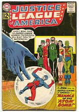 Justice League Of America 14 1st Series DC 1962 FN Atom Joins JLA