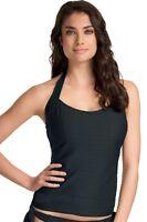 Freya Showboat Underwired Halter Tankini Top 3563 Black * New Swimwear