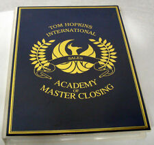 Tom Hopkins - Academy of Master Closing SALES Selling 12 Tapes + 8 CDs MSRP $225