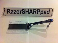RazorSHARPpad Cartridge Sharpener Use On Gillette Razor Blades To x3 Blade Life