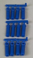 RPM  Long Shank Rod Ends Blue (12)  RPM73395
