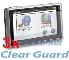 "3x Clear LCD Screen Protector Cover Garmin Nuvi 2455 2455LM 2455LT 2455LMT 4.3"""