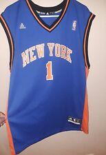 Amare Stoudemire New York Knicks Adidas NBA Basketball Jersey Blue Men's Large