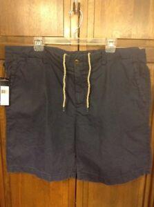 Polo Ralph Lauren Dry Dock Shorts Swimwear Navy Blue Men's 40 XL $75 NWT New