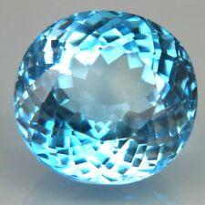 TOP BIG TOPAZ  : 31,08 Ct Natürliche Blau Topas aus Brasilien