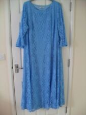 TURQUOISE LACED DRESS****WEDDING? EVENING OUT?