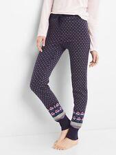 New Gap Women's Blue Fair Isle Sweater Leggings Size S
