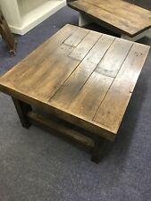 Industrial Style Wooden Pallet Coffee Table