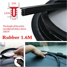 Rubber 1.6m Car Push Seal Strip Dashboard Windshield Gap Engine Noise Insulation