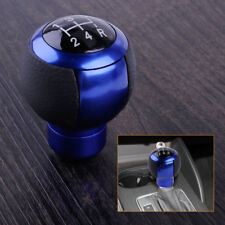 Universal Blue 5 Speeds Car Gear Stick Shift Lever Knob Manual Shifter Cover