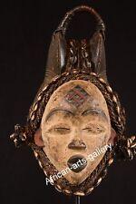 468 Rare Masque de Punu Gabon Afrique