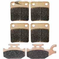 Brake Pads FITS YAMAHA GRIZZLY 450 YFM450 Front Rear Brakes 2007 2008