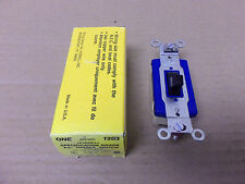 New Hubbell HBL 1203 Specification Grade A.C. Toggle Switch 3 way 15 amp 120/277